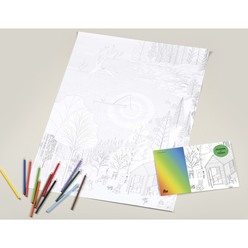 The School of Life : Colouring As Therapy Posters