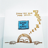 People I've Loved : Good at Naps Enamel Pin