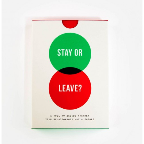 The School of Life : Stay or Leave Card Game