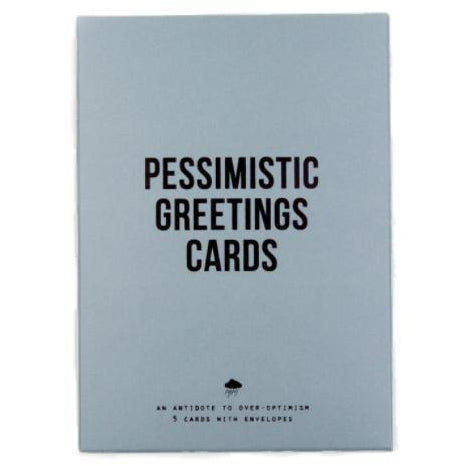 The school of life pessimistic greeting cards bibelot token the school of life pessimistic greeting cards m4hsunfo