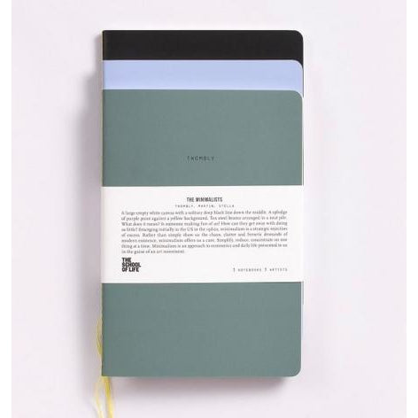 The School of Life : Minimalist Notebooks