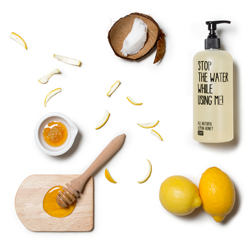 Stop the Water While Using Me: Lemon Honey Hand Soap
