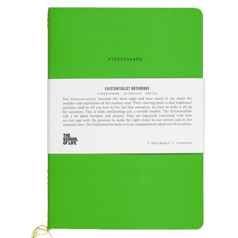 The School of Life : Existentialist Notebooks
