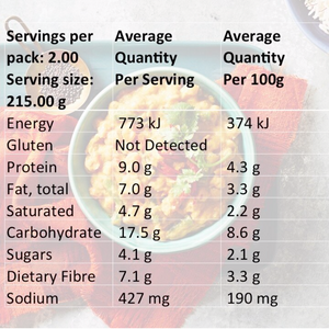 Dahlicious Mixed Carton Nutritional Info