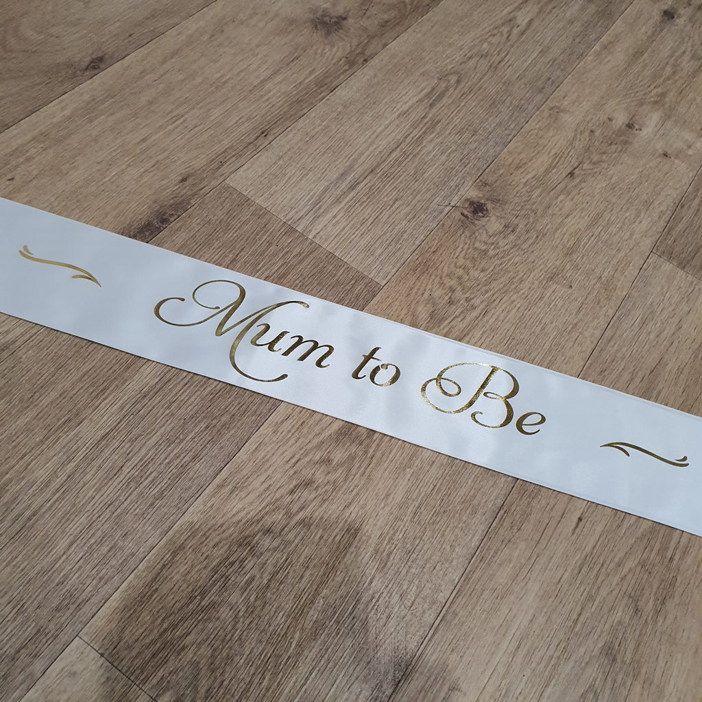 MUM TO BE SASH