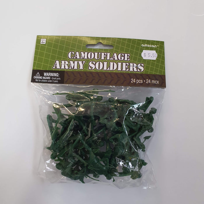 CAMOUFLAGE ARMY SOLDIERS