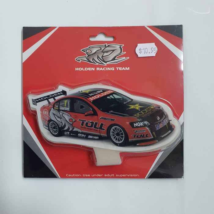 HOLDEN RACING TEAM BIRTHDAY CANDLE