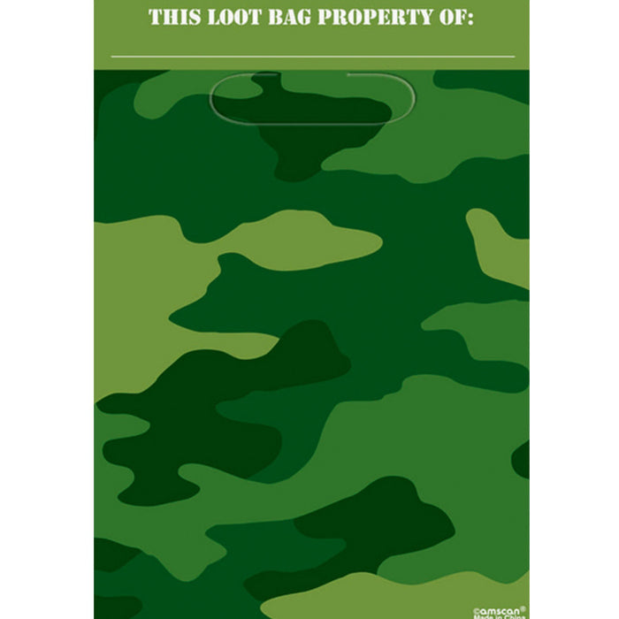 CAMOUFLAGE LOOT BAGS