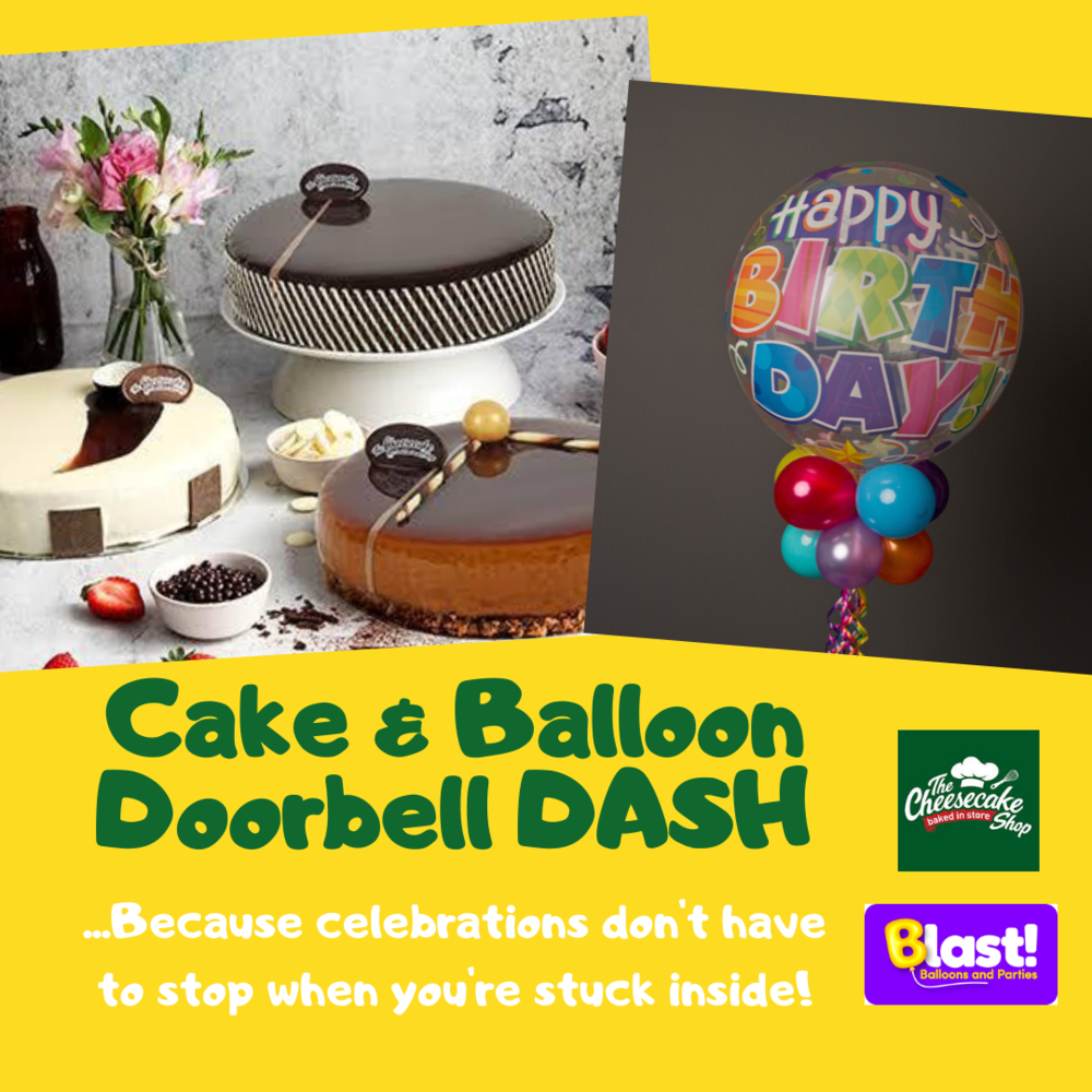 CAKE & BALLOON DOORBELL DASH