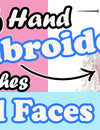 Top 6 Favorite Hand Embroidery Stitches for Doll and Soft Toy Plushie Faces