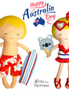 Stitch Something Fun & Fast for Australia Day!