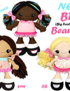 NEW BFF Beauties Doll Sewing and Machine Embroidery Pattern Out Now!