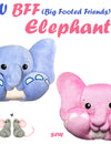 NEW BFF Elephant Sewing and Machine Embroidery Pattern Out Now!