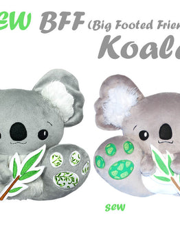 Meet the New BFF Koala Pattern ever so cute and cuddly!