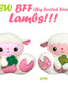 NEW BFF Lamb Sewing & In The Hoop Patterns are here!
