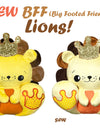 NEW BFF Lion Sewing and Machine Embroidery Pattern is Here!