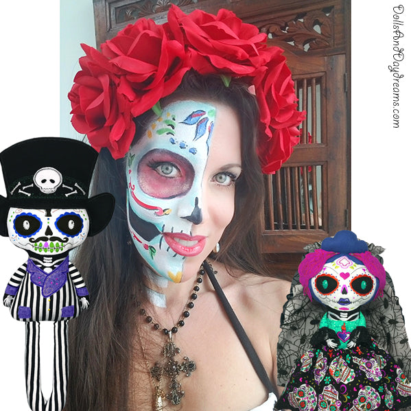 Day of the Dead Doll and Plush Toy Patterns!