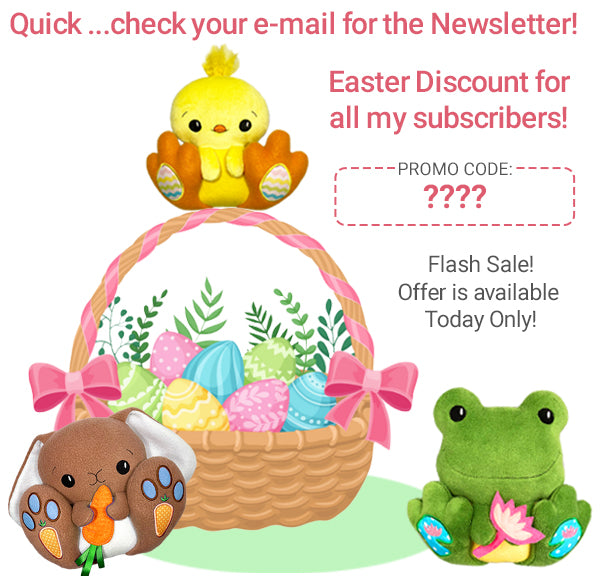 Find the Secret Easter Discount in your Newsletter Today!