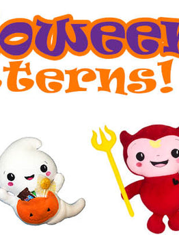 Halloween is just around the corner! Plus a NEW Halloween Pattern!