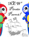NEW Pirate Parrot Pattern!