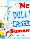 NEW Plush Toy & Doll Pattern Round Up | Summer 2020