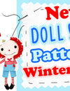 New Doll & Toy Pattern Round Up Winter 2019 🎄