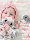 Baby's 1st Plush Lamb Snuggle Pattern Sets