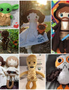 May the 4th be with you! Amazing Star Wars Fan Art Plush toys and dolls ❤