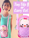 NEW Tiny Tikes Baby Doll & Carry Cot (bassinet) Tote Patterns are Here!
