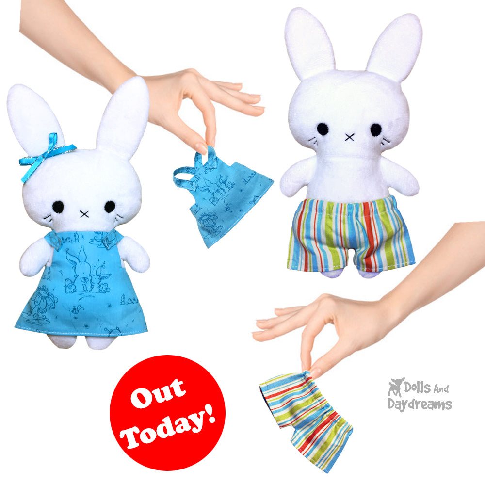 NEW Tiny Tot Doll and Toy Clothes  Sewing Patterns are here!