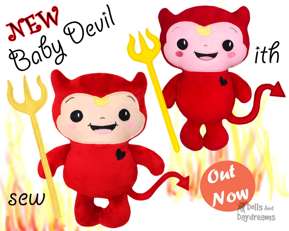 NEW Cute Little Baby Devil Pattern Out NOW!