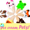 Quick Kids Ice Cream Pets Sewing Patterns