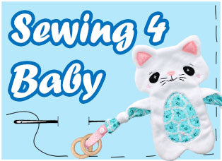 Baby PDF Plush Toy Rattles Blanket Sewing Patterns by dolls and daydreams