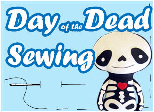 Dia De Los Muertos day of the dead sewing patterns pdfs