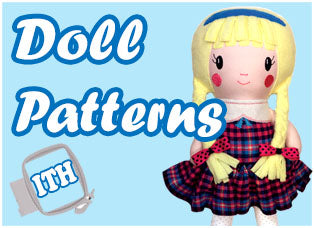 In The Hoop Doll Patterns