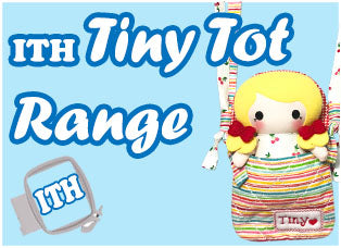 In The Hoop Tiny Tot and Tote Pattern Range by Dolls And Daydreams
