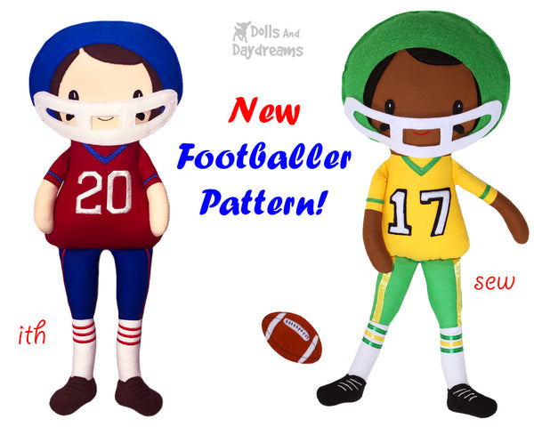 New Sewing and ITH Doll and Toy Patterns   Dolls And Daydreams