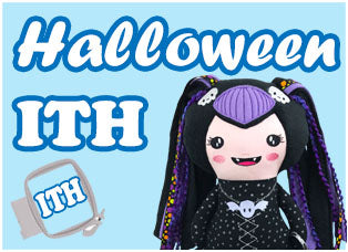 In the hoop Halloween Dolls And Daydreams Plush Toy & Cloth Doll Range