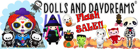 Flash sale Halloween sewing and embroidery patterns