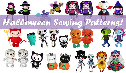 Get inspired! grab a Halloween Sewing pattern today!