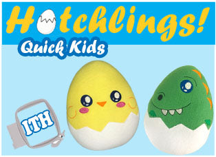 Easter Egg Hunt Hatchlings Quick Kids Pattern Kawaii In the hoop