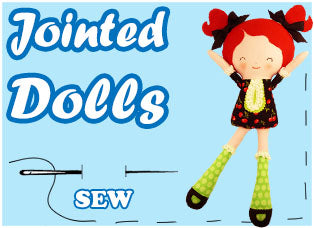 Jointed Cloth Doll Patterns by Dolls And Daydreams