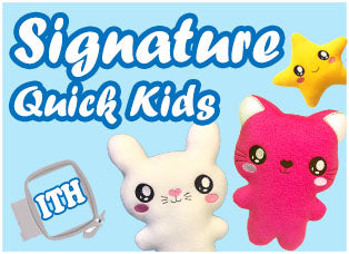 Signature Quick Kids Plush Toy Range by Dolls And Daydreams