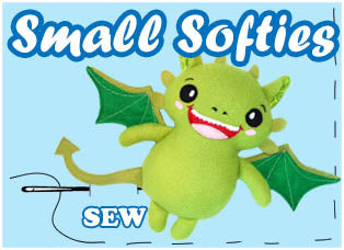 Small Soft Toy Plushie Sewing Patterns by dolls and daydreams