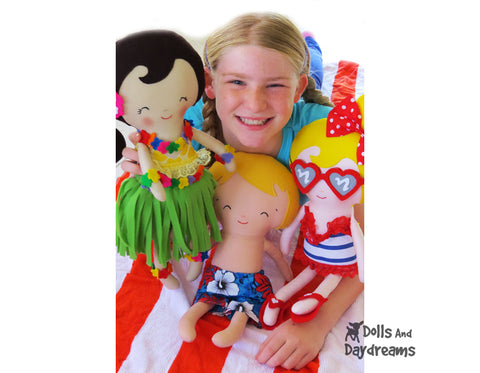 Summer sewing fun by dolls and daydreams