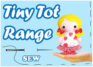 Tiny Tot Sewing Pattern Range by Dolls And Daydreams