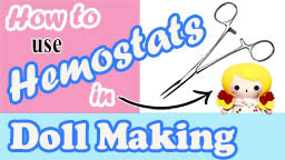 How to turn small limbs with hemostats by dolls and daydreams