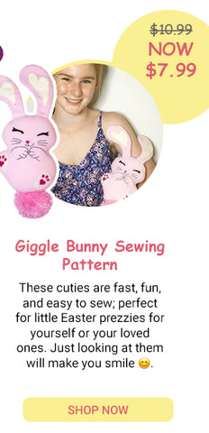 Giggle Bunny PDF Sewing Pattern SALE