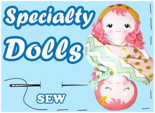 Specialty Doll Patterns by Dolls And Daydreams