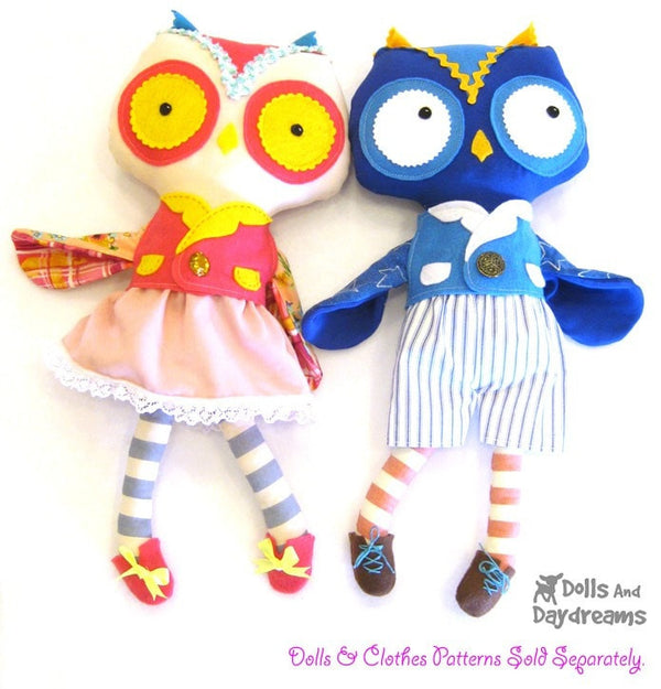 Doll and Toy Shoe Sewing Patterns - Dolls And Daydreams - 3